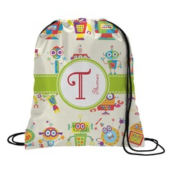 Rocking Robots Drawstring Backpack (Personalized)
