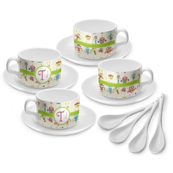Rocking Robots Tea Cup - Set of 4 (Personalized)
