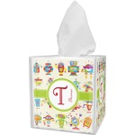 Rocking Robots Tissue Box Cover (Personalized)