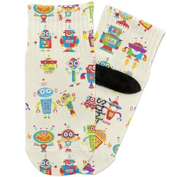 Rocking Robots Toddler Ankle Socks (Personalized)