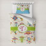 Rocking Robots Toddler Bedding w/ Name and Initial