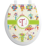 Rocking Robots Toilet Seat Decal (Personalized)