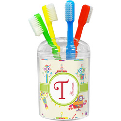 Rocking Robots Toothbrush Holder (Personalized)