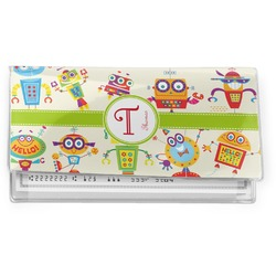 Rocking Robots Vinyl Checkbook Cover (Personalized)