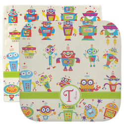 Rocking Robots Facecloth / Wash Cloth (Personalized)
