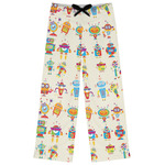 Rocking Robots Womens Pajama Pants (Personalized)