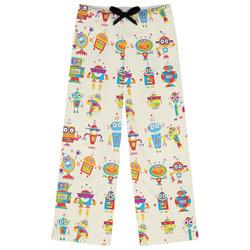Rocking Robots Womens Pajama Pants (Personalized)