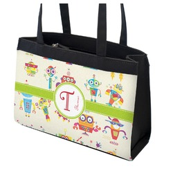 Rocking Robots Zippered Everyday Tote (Personalized)