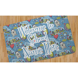 Welcome to School Area Rug (Personalized)