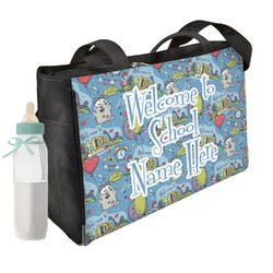 Welcome to School Diaper Bag w/ Name or Text