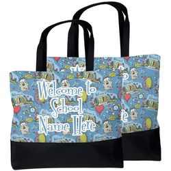 Welcome to School Beach Tote Bag (Personalized)