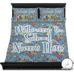 Welcome to School Duvet Cover Set (Personalized)