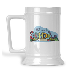 Welcome to School Beer Stein (Personalized)
