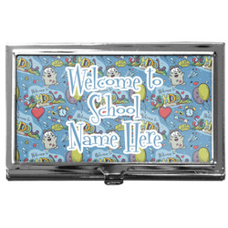 Welcome to School Business Card Case