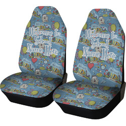 Welcome to School Car Seat Covers (Set of Two) (Personalized)