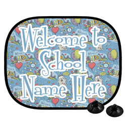 Welcome to School Car Side Window Sun Shade (Personalized)