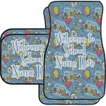Welcome to School Car Floor Mats Set - 2 Front & 2 Back (Personalized)