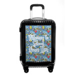 Welcome to School Carry On Hard Shell Suitcase (Personalized)