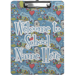 Welcome to School Clipboard (Personalized)