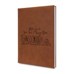 Welcome to School Leatherette Journal (Personalized)
