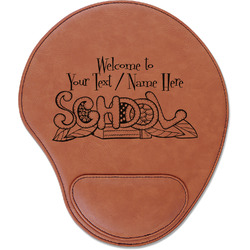 Welcome to School Leatherette Mouse Pad with Wrist Support (Personalized)