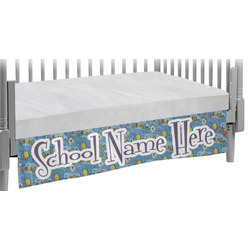 Welcome to School Crib Skirt (Personalized)