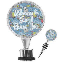 Welcome to School Wine Bottle Stopper (Personalized)