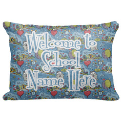 """Welcome to School Decorative Baby Pillowcase - 16""""x12"""" (Personalized)"""