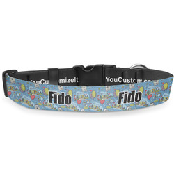 """Welcome to School Deluxe Dog Collar - Toy (6"""" to 8.5"""") (Personalized)"""