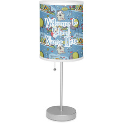 "Welcome to School 7"" Drum Lamp with Shade (Personalized)"