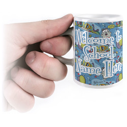 Welcome to School Espresso Cups (Personalized)