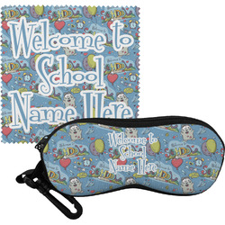 Welcome to School Eyeglass Case & Cloth (Personalized)