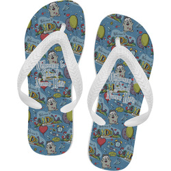 Welcome to School Flip Flops (Personalized)