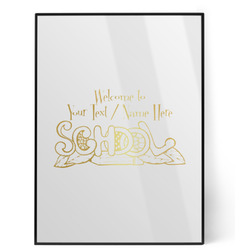 Welcome to School Foil Print (Personalized)