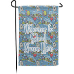 Welcome to School Garden Flag - Single or Double Sided (Personalized)