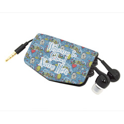 Welcome to School Genuine Leather Cord Wrap (Personalized)