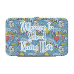 Welcome to School Genuine Leather Small Framed Wallet (Personalized)