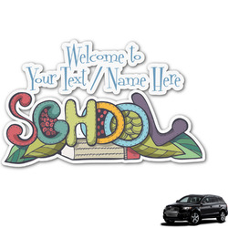 Welcome to School Graphic Car Decal (Personalized)