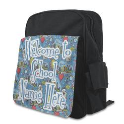Welcome to School Preschool Backpack (Personalized)