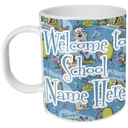 Welcome to School Plastic Kids Mug (Personalized)