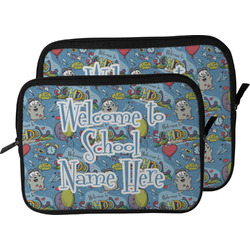 Welcome to School Laptop Sleeve / Case (Personalized)