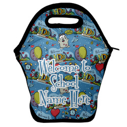 Welcome to School Lunch Bag w/ Name or Text