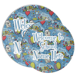 Welcome to School Melamine Plate (Personalized)