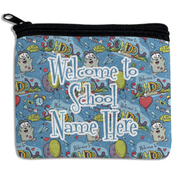Welcome to School Rectangular Coin Purse (Personalized)