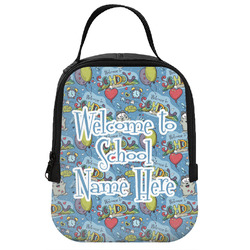 Welcome to School Neoprene Lunch Tote (Personalized)