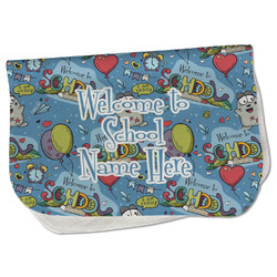 Welcome to School Burp Cloth - Fleece w/ Name or Text