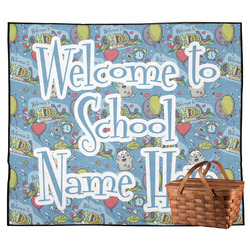 Welcome to School Outdoor Picnic Blanket (Personalized)