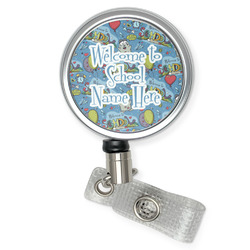 Welcome to School Retractable Badge Reel (Personalized)