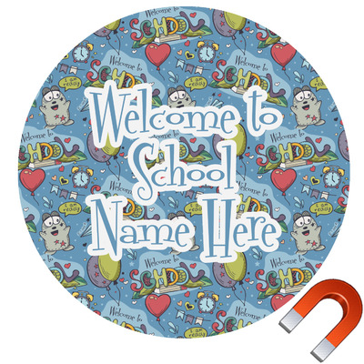 Welcome to School Car Magnet (Personalized)