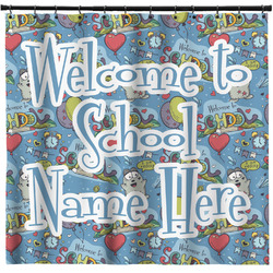 Welcome to School Shower Curtain (Personalized)